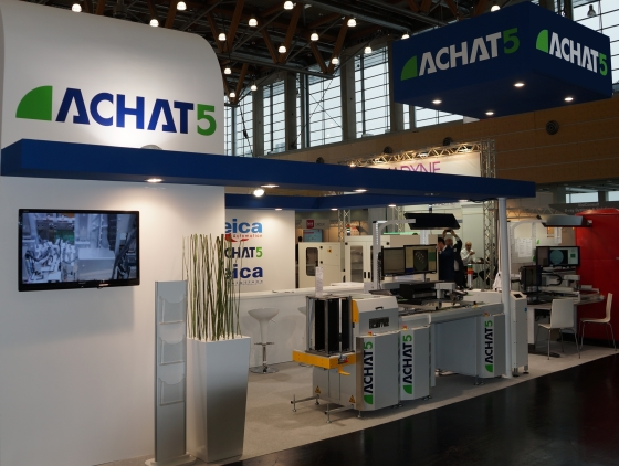 achat5 at SMT 2016 Board Handling VinCam